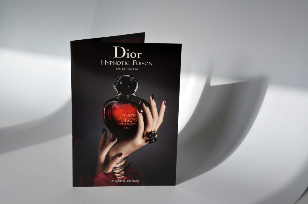 Dior Hypnotic Poison - Plaquette 4 pages